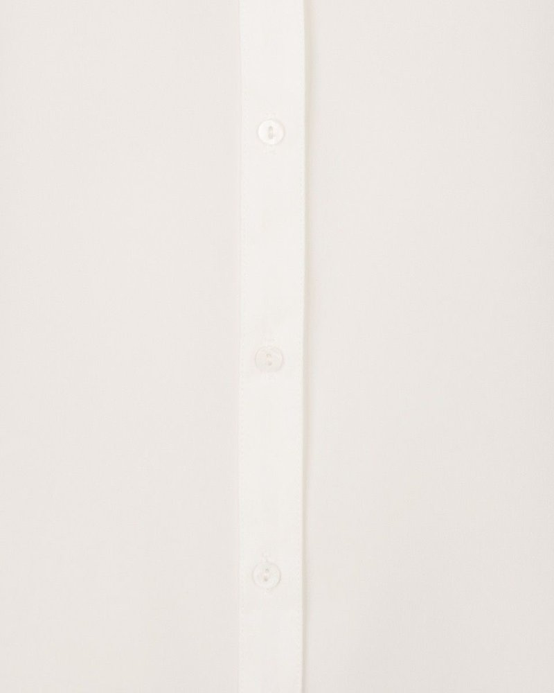 ESQUALO SP21.08008 Blouse basic puffed cuff off white