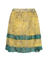 ESQUALO SP21.14015 Skirt short paisley layers print