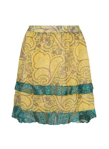 ESQUALO SP21.14015 Skirt short paisley layers print