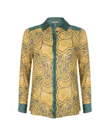 ESQUALO SP21.14013 Blouse paisley wheat print print