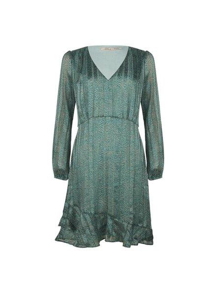 ESQUALO SP21.14000 Dress wheat print print