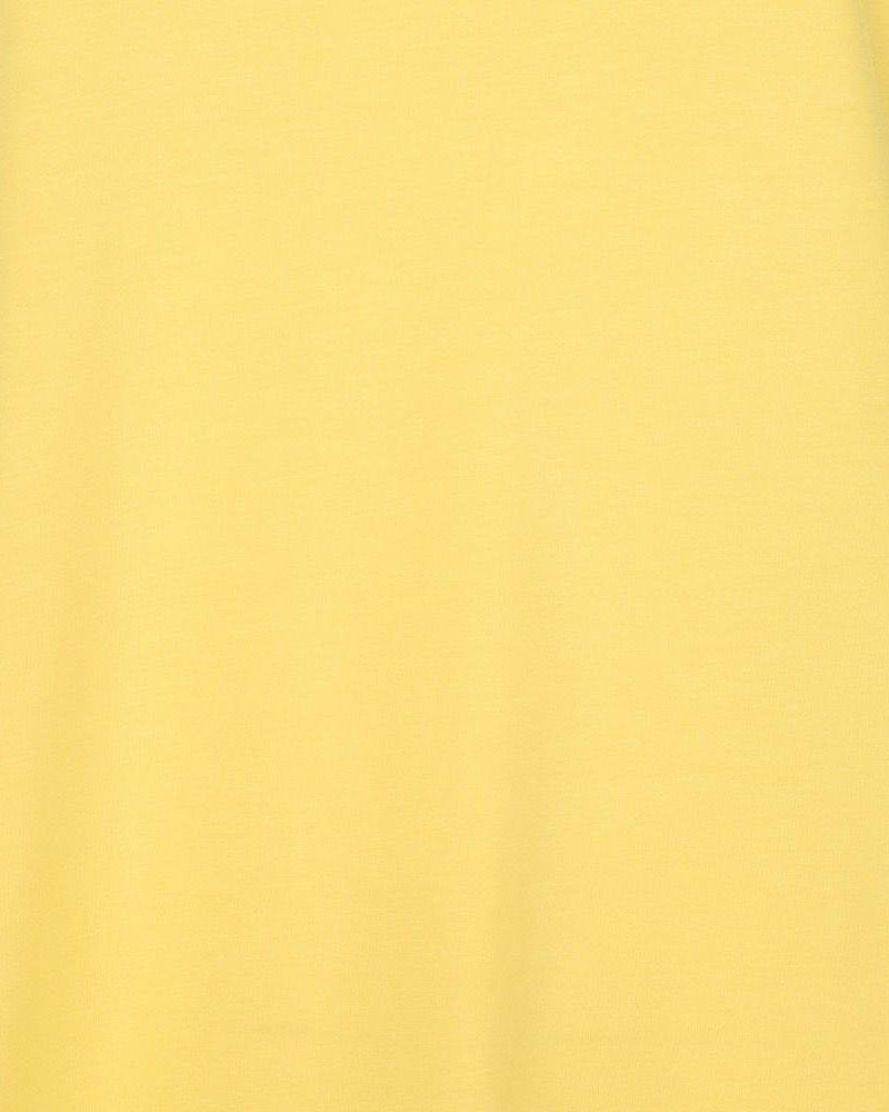 ESQUALO SP21.30008 T-shirt turn up sleeve lemon
