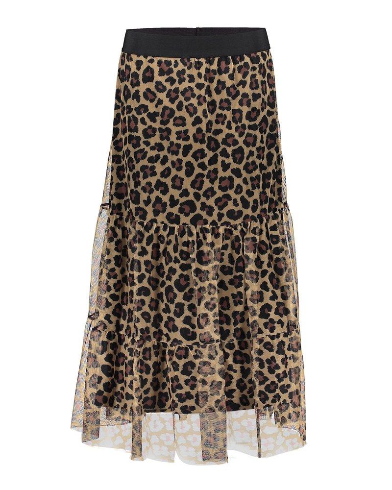 GEISHA 16065-23 Leopard skirt black/ecru