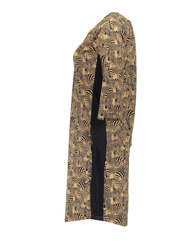 GEISHA 17123-20 Dress tabacco combi