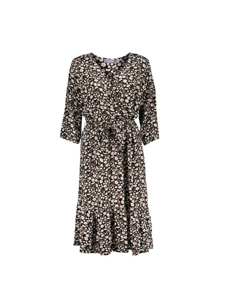 GEISHA 17101-20 Dress black/off-white combi