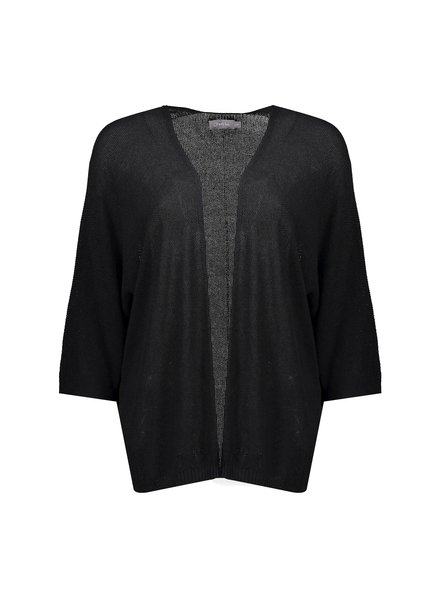 GEISHA 14046-70 Batman cardigan s/s black