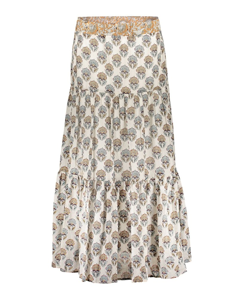GEISHA 16075-20 Skirt off-white/sand combi