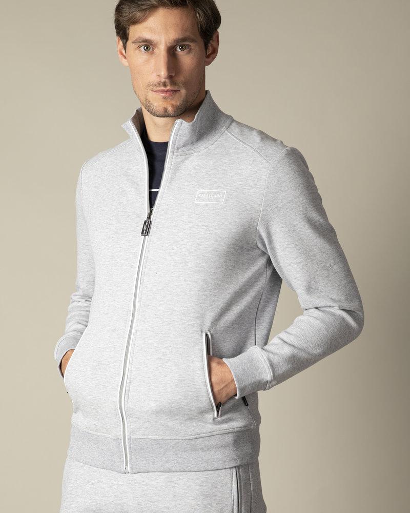 CAVALLARO Cavallaro sport zip sweat 120211002 light grey