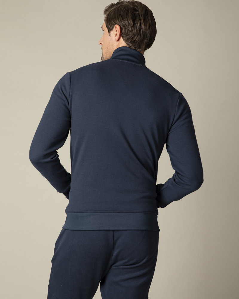 CAVALLARO Cavallaro sport zip sweat 120211002 dark blue