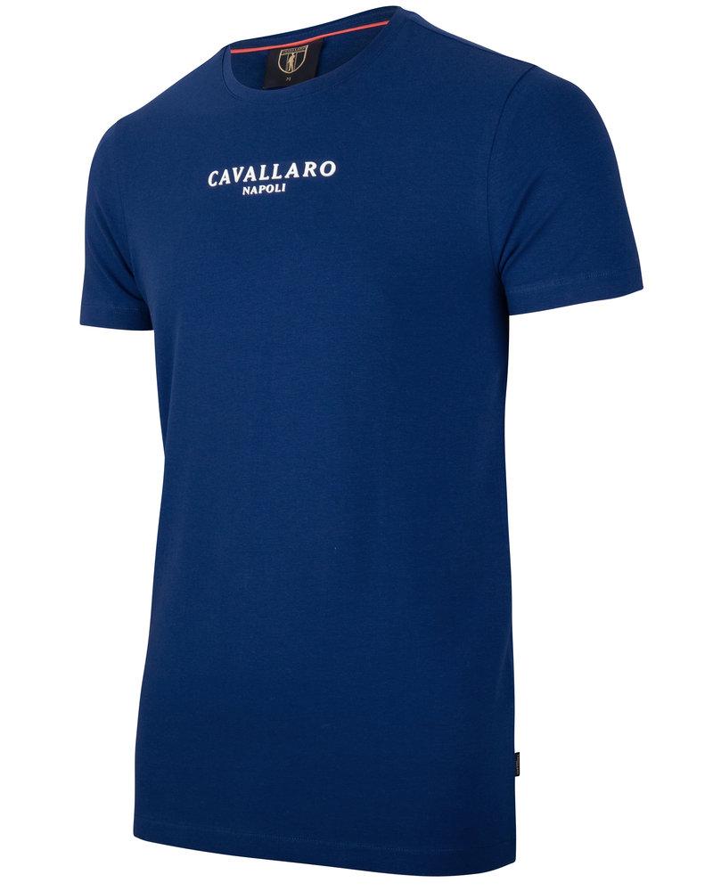 CAVALLARO Albaretto tee 117211000 marine blue