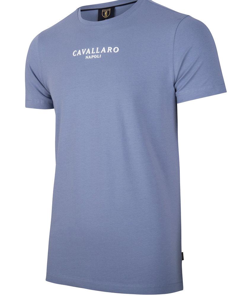 CAVALLARO Albaretto tee 117211000 mid blue