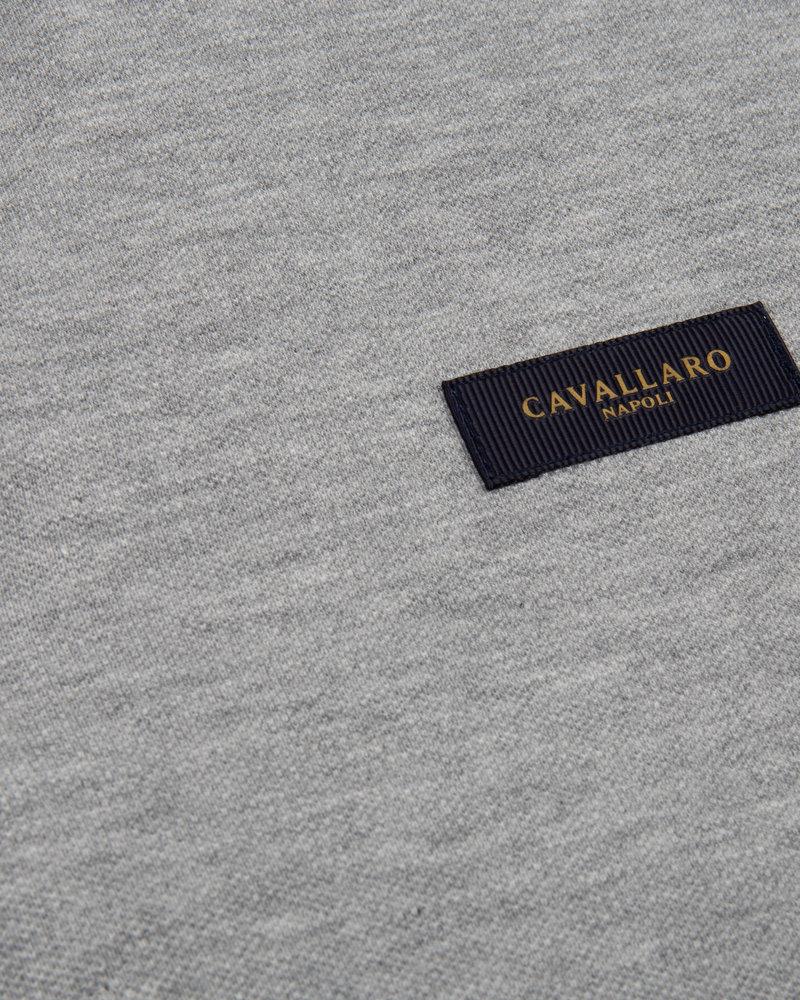 CAVALLARO Basic polo 116211004 light grey