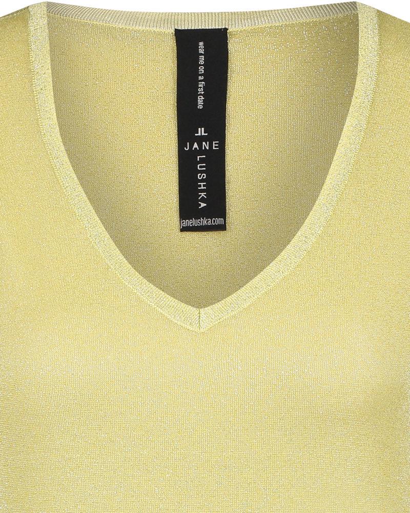 JANE LUSHKA T shirt leny RP62122040 light gold