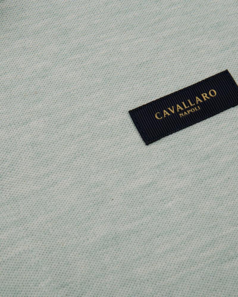 CAVALLARO Basic polo 116211004 light green