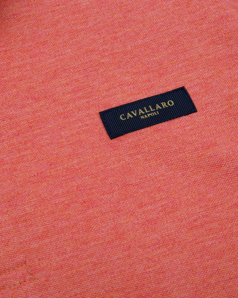 CAVALLARO Basic polo 116211004 coral