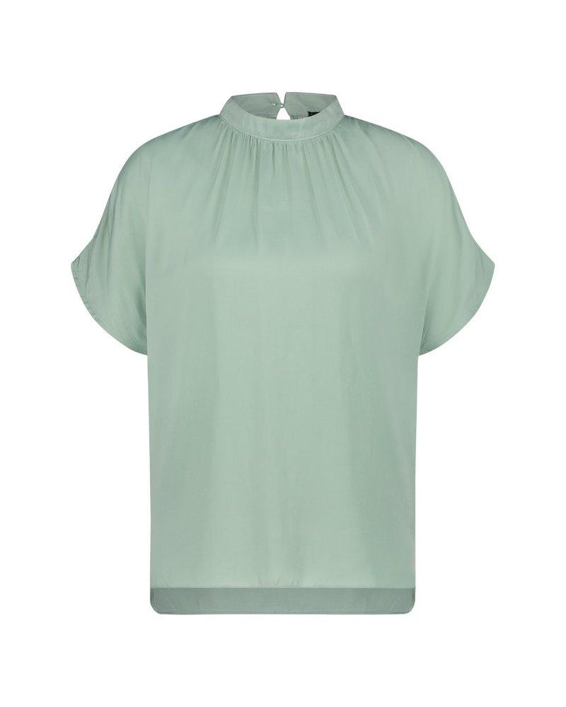 MILLA AMSTERDAM MSS210053.58 Beau blouse jade green