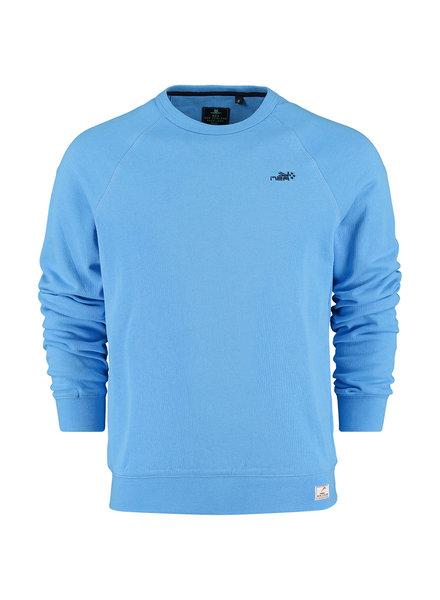 NZA NEW ZEALAND Sweat round neck te rahotaiepa 21AN305 celtic blue