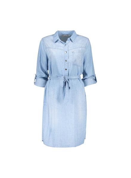 GEISHA 17007-10 Dress bleached denim
