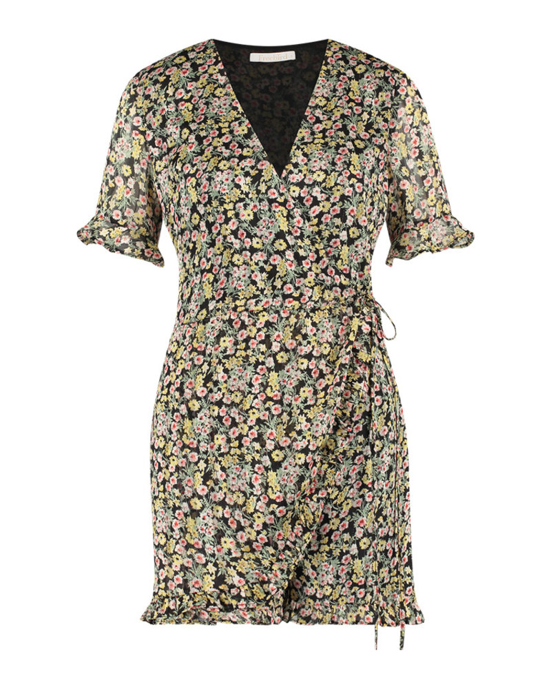 FREEBIRD Rosy play turquoise playsuit MINI-FLOWER-PES-02