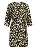 FREEBIRD Odette black mini dress 3/4 sleeve PAISLEY-PES-02