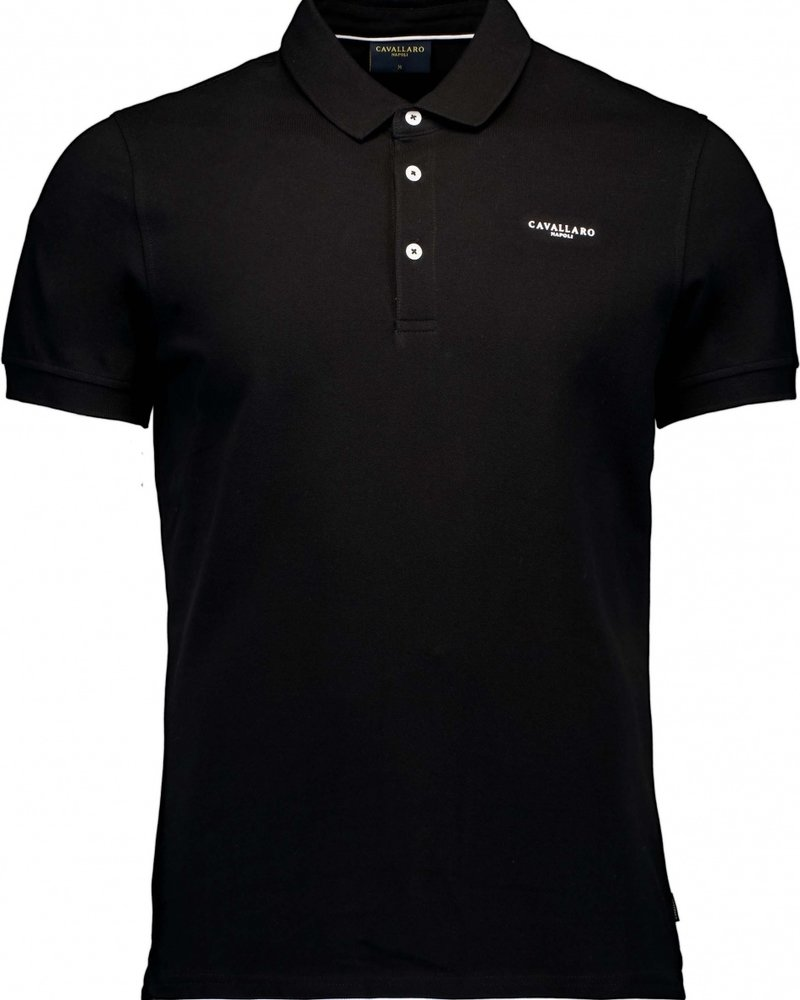CAVALLARO Basic polo 116211004 black