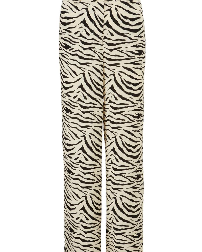 MODSTRÖM 55674 Ibu print pants, fashion pants zebra
