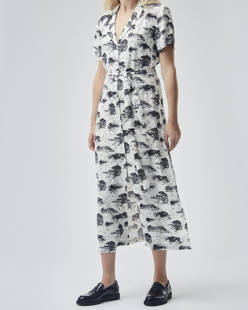 MODSTRÖM 55610 Ivar print dress, fashion dress shore
