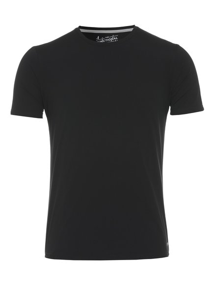 PURE 3394-92940 - Functional T-Shirt slim fit KLEUR 001