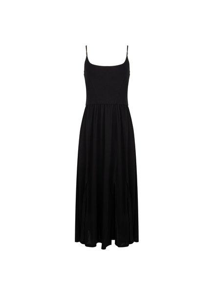 ESQUALO HS21.30212 Dress beach long black