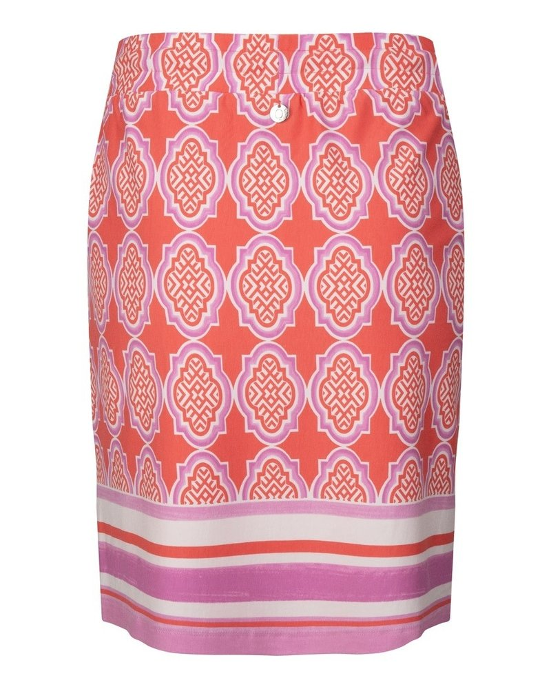 ESQUALO HS21.30203 Skirt cabana print