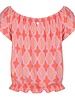 ESQUALO HS21.30202 Top cabana knot print