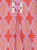 ESQUALO HS21.30200 Dress cabana 3/4 slv print