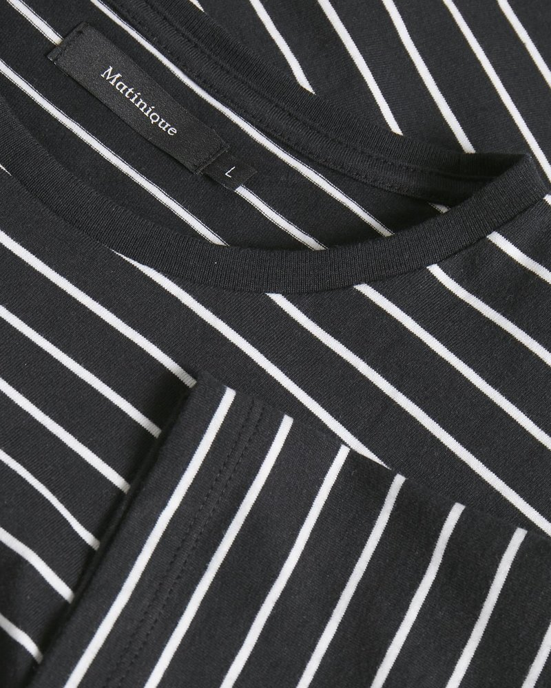 MATINIQUE Jermane sailor stripe 30205255 black