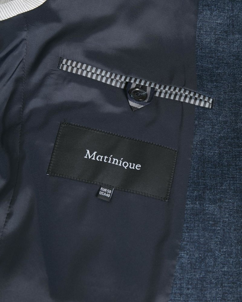 MATINIQUE Mageorge jersy linen look jersy 30205329 dark navy