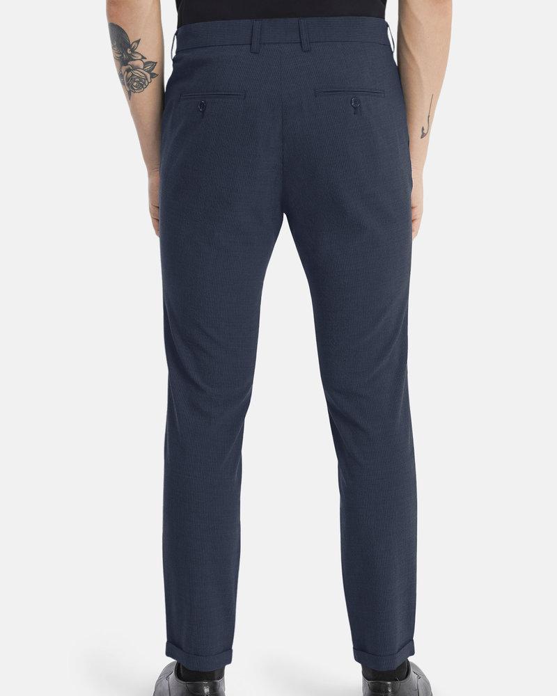 MATINIQUE Maliam pant seersucker suit 30205188 dark navy