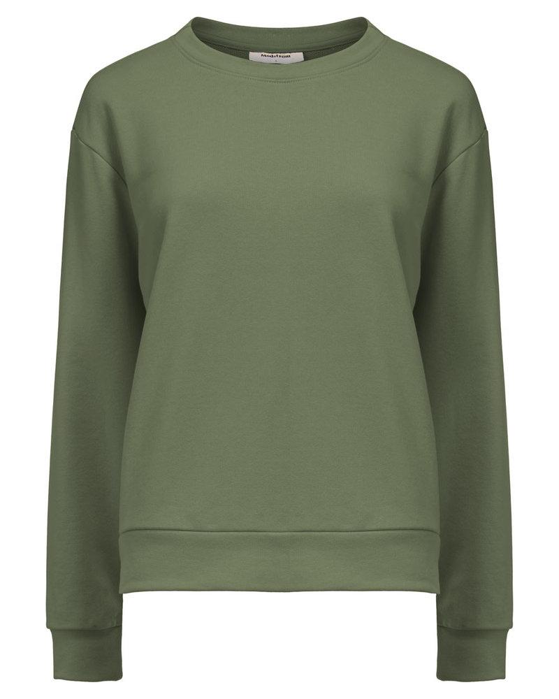 MODSTRÖM 55687 Holly sweat, sweatshirt sea green