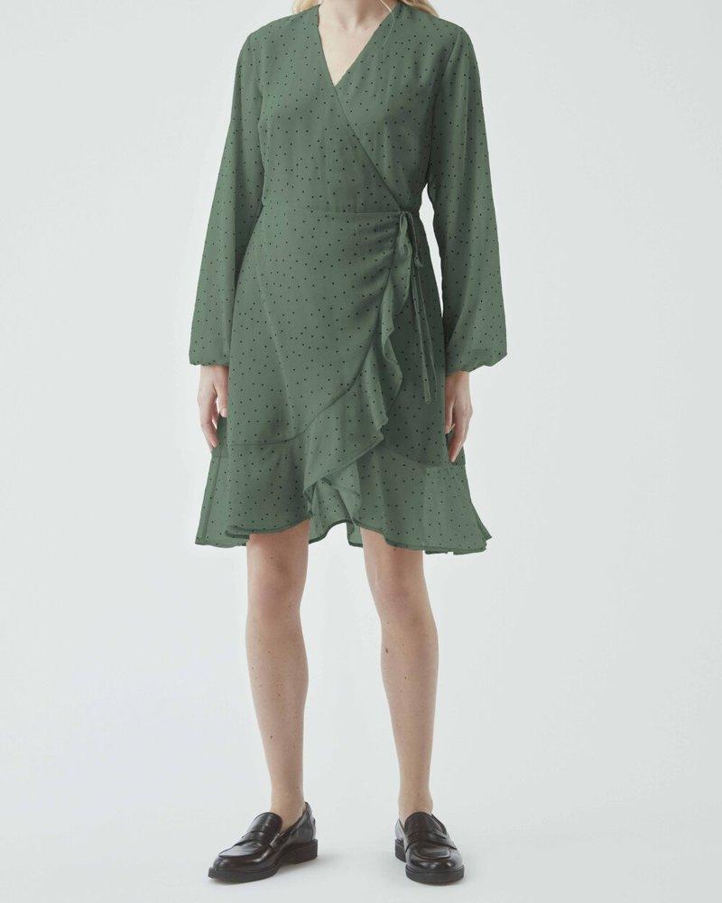 MODSTRÖM 55725 Jamir dress, fashion dress sea green dot
