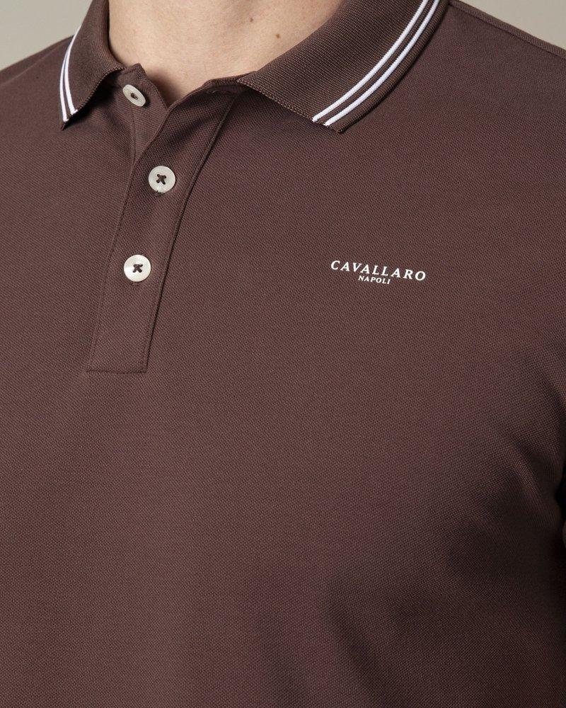 CAVALLARO Garmino polo 116211000 dark brown