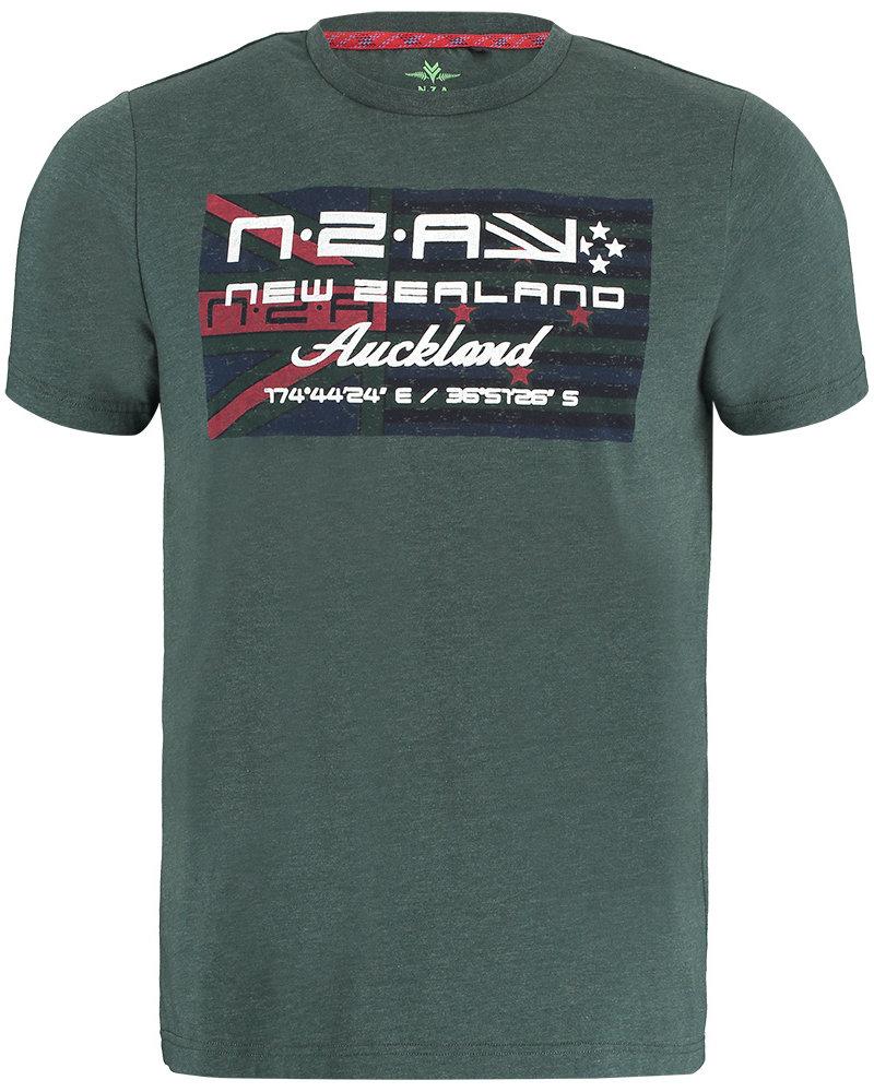 NZA NEW ZEALAND Tee round neck westport 21BN717 moss green