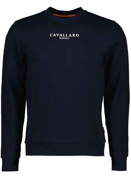 CAVALLARO 120212015 Ec 21 sweat dark blue