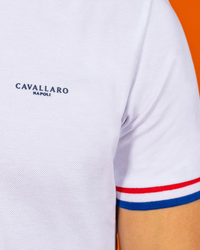 CAVALLARO 116212009 Ec 21 polo white