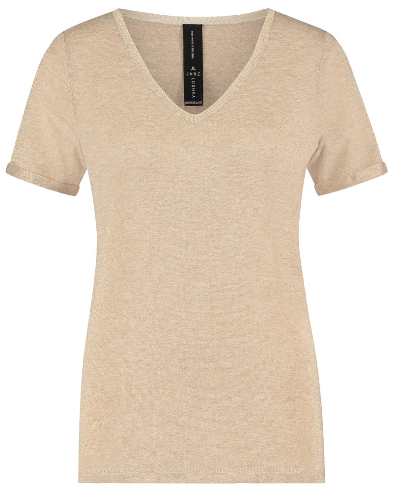 JANE LUSHKA RP62122040H T shirt leny light beige