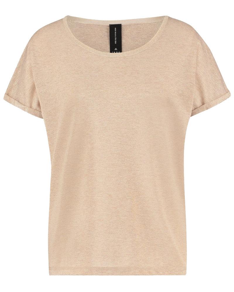 JANE LUSHKA RP621220H Hope T shirt light beige