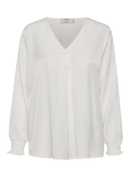 CREAM 10607056 Fengcr blouse 110602 snow white