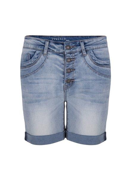 ESQUALO HS21.12204 Short bermuda button clsre blue