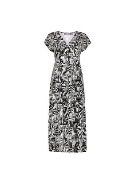 GEISHA 17395-60 jane dress long short sleeve black/kit