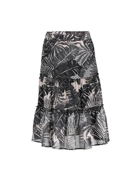 GEISHA 16087-20 Skirt black/sand combi