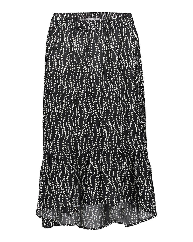 GEISHA 16081-20 Skirt black/off-white combi