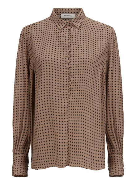 MODSTRÖM 55890 Lohan print shirt camel dot