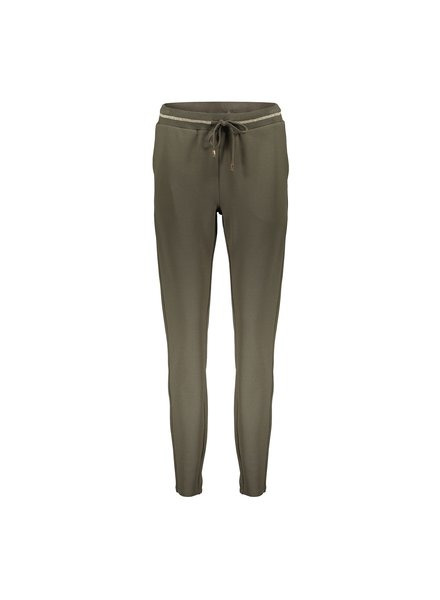 GEISHA 11588-24 Pants jog with lurex at waist army